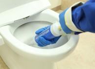 尿石などのしつこい汚れも徹底的にキレイに